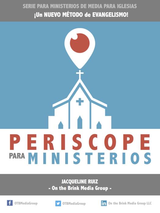Les presento mi PRIMER E-BOOK «Periscope para Ministerios» | #ProfessorJRuiz
